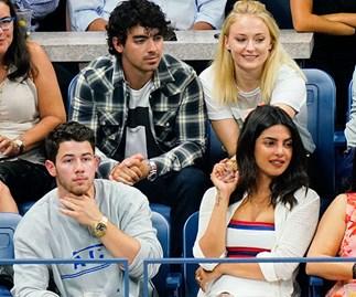 Priyanka Chopra Nick Jonas Sophie Turner Joe Jonas US Open