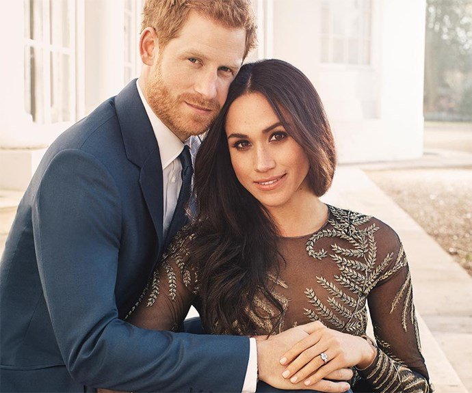 Nick Jonas And Priyanka Chopra Remake Meghan Markle And Prince Harry's Engagement Photo