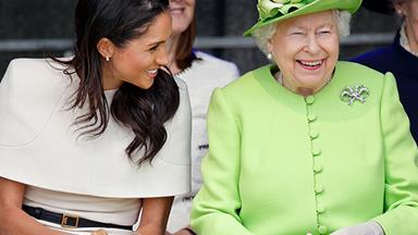 The Fascinating Reason Queen Elizabeth Always Wears A Bright Colour