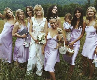 Hanne Gaby Odiele bridesmaids.