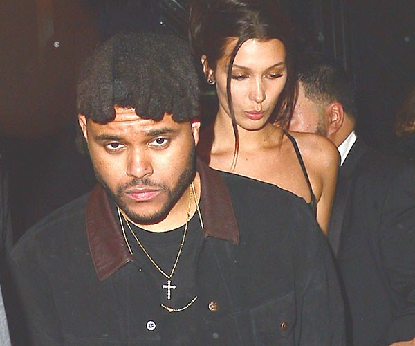 The Weeknd And Bella Hadid Have A Ice Cream Date At Fashion Week
