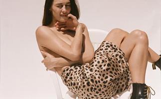 leopard print skirts