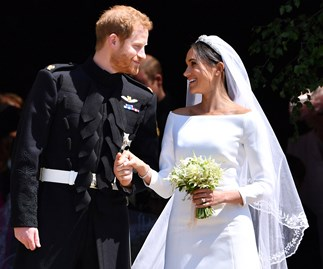 Meghan Markle Wedding Dress Something Blue