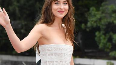 Dakota Johnson Just Had The Perfect Fairytale Princess Moment In Gucci