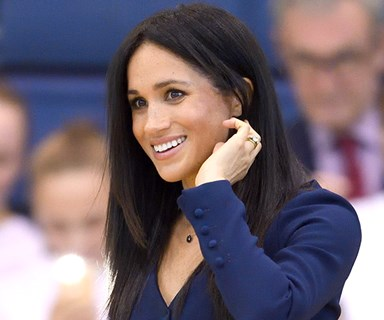 Meghan Markle Just Turned Black And Navy From Faux-Pas To Chic
