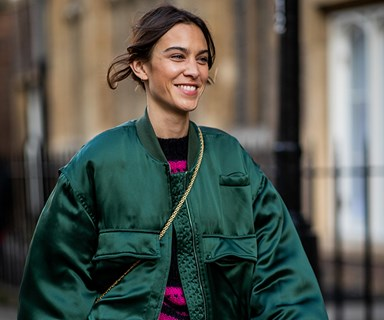 Alexa Chung Takes On The ELLE Mystery Box Challenge