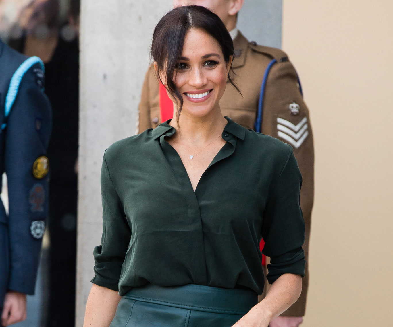 Duke and Duchess of Sussex visit county that inspired their royal titles