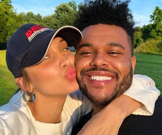 The Weeknd Bella Hadid Instagram