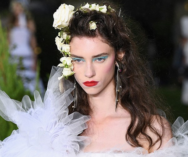 Wedding hair from the runway