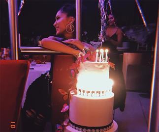 Bella Hadid's 22nd birthday party.