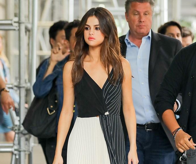 Selena Gomez.