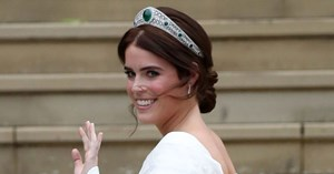 Princess Eugenie Wore The Most Beautiful Tiara With Her Wedding Dress