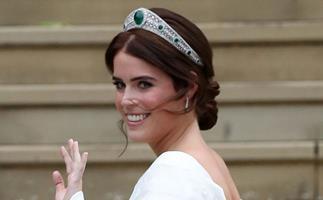 Princess Eugenie wedding tiara.