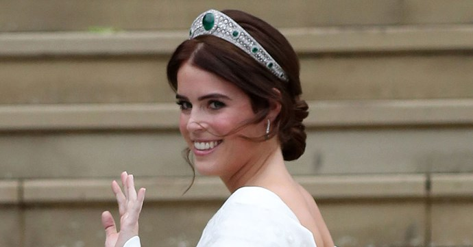Princess Eugenie wedding tiara.
