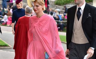 Celebrities at Princess Eugenie's royal wedding.