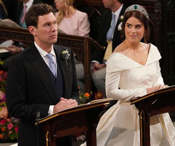 Princess Eugenie royal wedding meme.