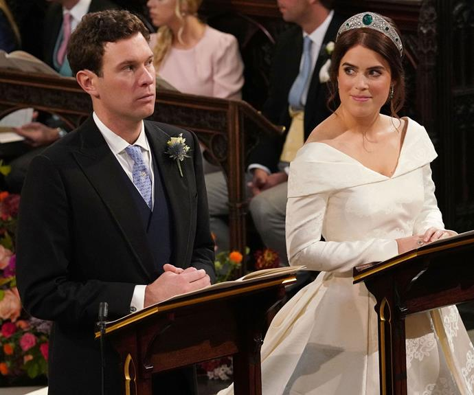 Princess Eugenie royal wedding meme.