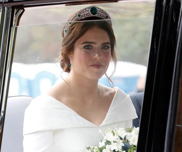 Princess Eugenie wedding dress.