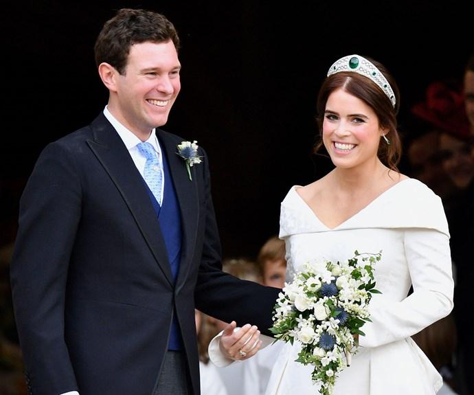 Jack Brooksbank Speech Princess Eugenie