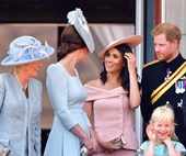 How The Royal Family Reacted To Meghan And Harry's Baby News