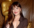 Only Dakota Johnson Could Make A Brown Dress Look This Sexy