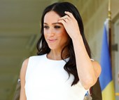 Meghan Markle And Prince Harry Step Out For The First Time Following Their Baby Announcement