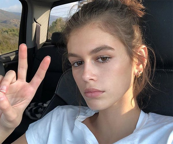 Kaia Gerber Tattoo