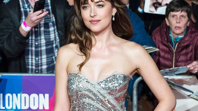 Dakota Johnson Gucci dress