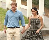 Meghan Markle Wears Martin Grant Again In Bondi