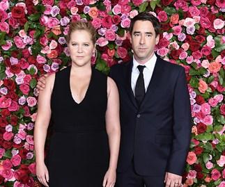 Amy Schumer and Chris Fischer.