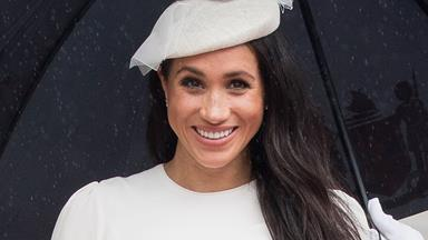 Meghan Markle Just Wore A Diamond Bracelet With A Very Sentimental Meaning
