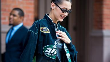 Bella Hadid Wants You To Dress Like A Hot Formula One Racer