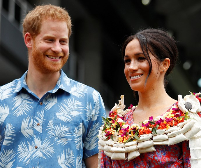 Watch Prince Harry Gush Over Meghan Markle After Her Feminist Speech In Fiji