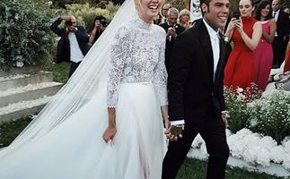 Poppy Delevingne wedding photos