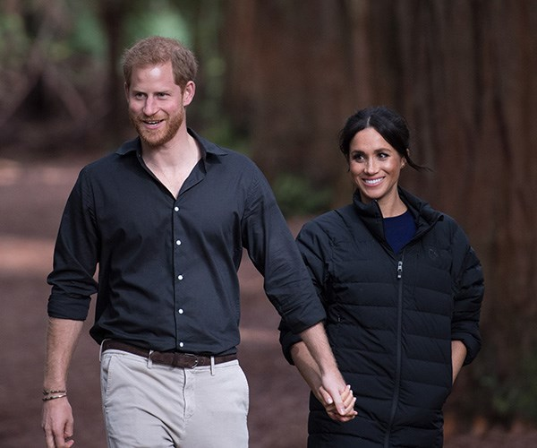 Meghan Markle Borrowed Prince Harry's Clothes for Her Last Royal Tour Event