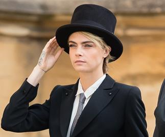 Cara Delevingne Princess Eugenie wedding