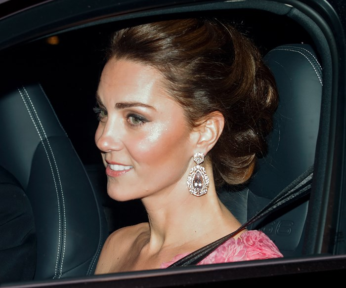 Kate Middleton And Meghan Markle Go Black Tie For Prince Charles' 70th Birthday