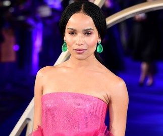 Zoë Kravitz Just Wore Two Princess-Like Gowns In A Row