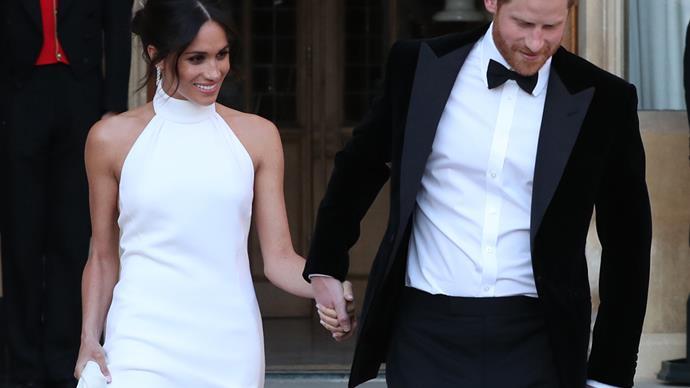 Meghan Markle's Wedding Reception Dress, by Stella McCartney.