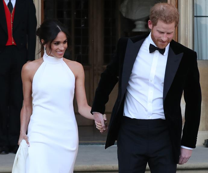 Meghan Markle's Wedding Reception Dress, by Stella McCartney.