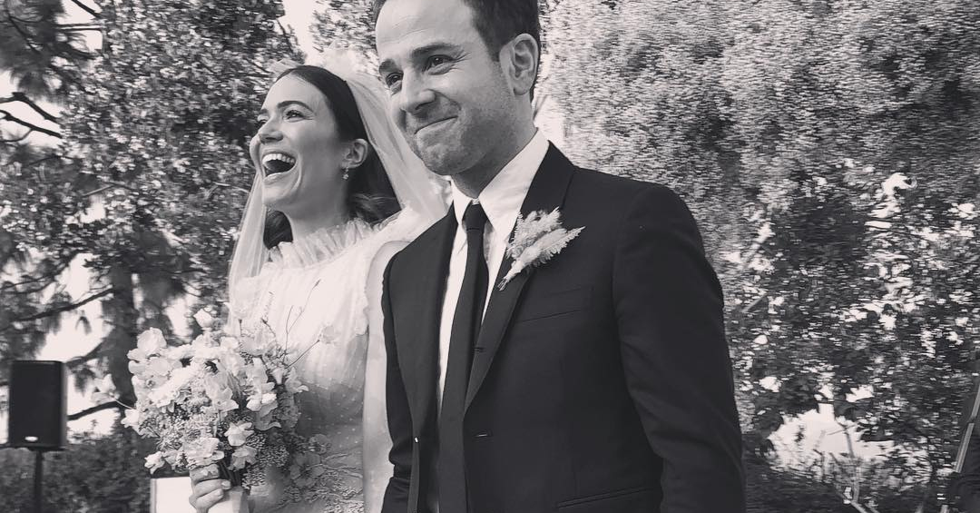 """Mandy Moore Just Got Married In A Secret """"Boho"""" Ceremony"""