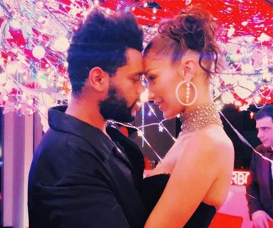 Bella Hadid And The Weeknd Got Extremely Cosy In A Club And Fans Captured It On Camera