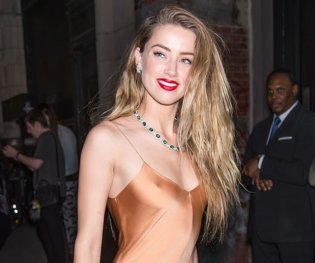 Amber Heard Just Wore An Actual Swimming Cap On The Red Carpet