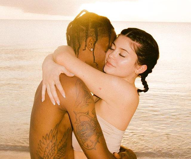 Kylie Jenner Travis Scott engaged