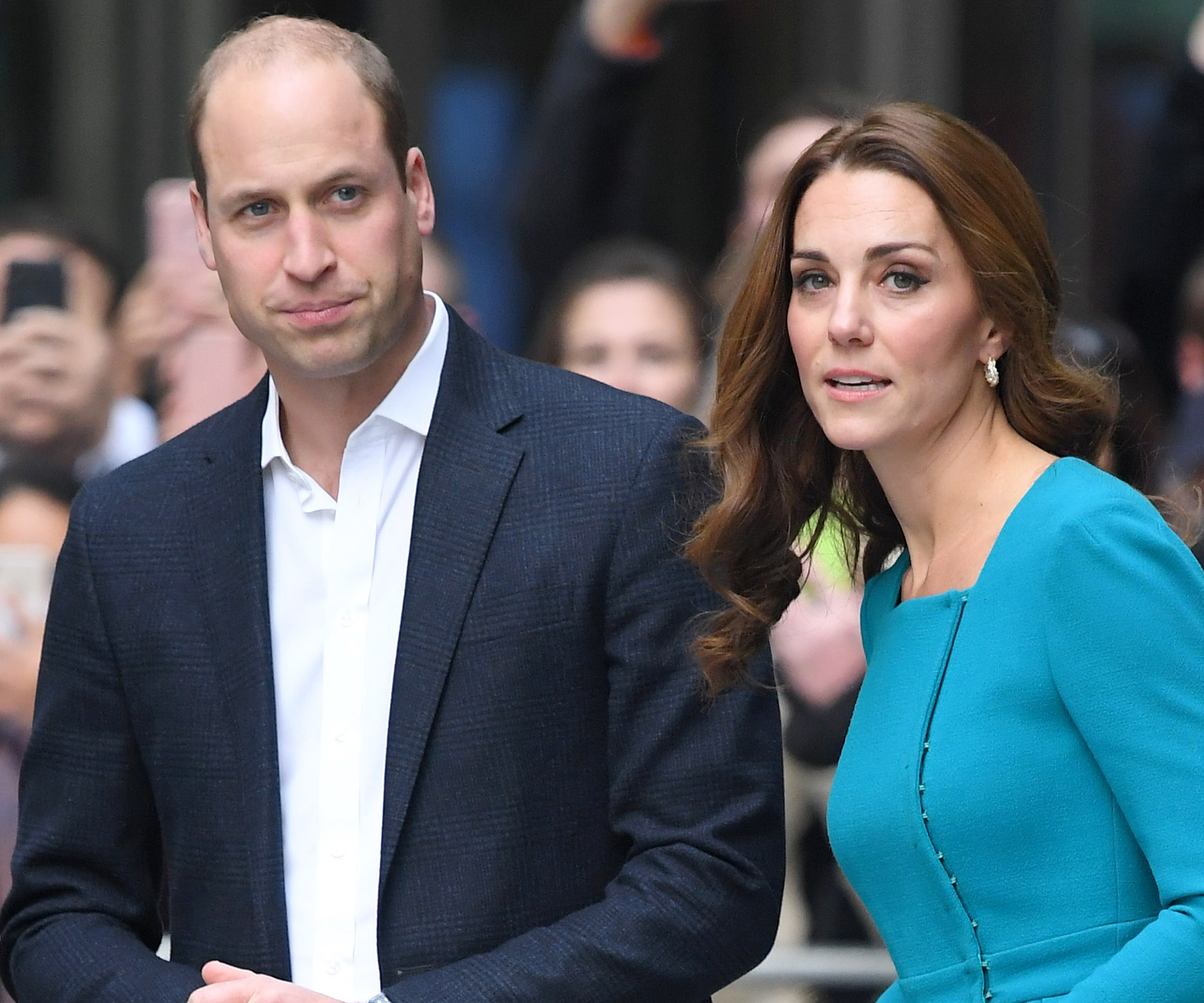 William and Kate meet forces serving overseas over Christmas