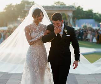 Priyanka Chopra and Nick Jonas.