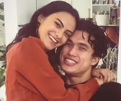 Camila Mendes And Charles Melton's Instagram Romance In Photos