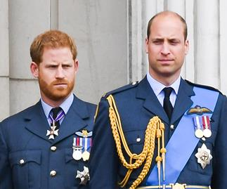 Prince William Prince Harry feud