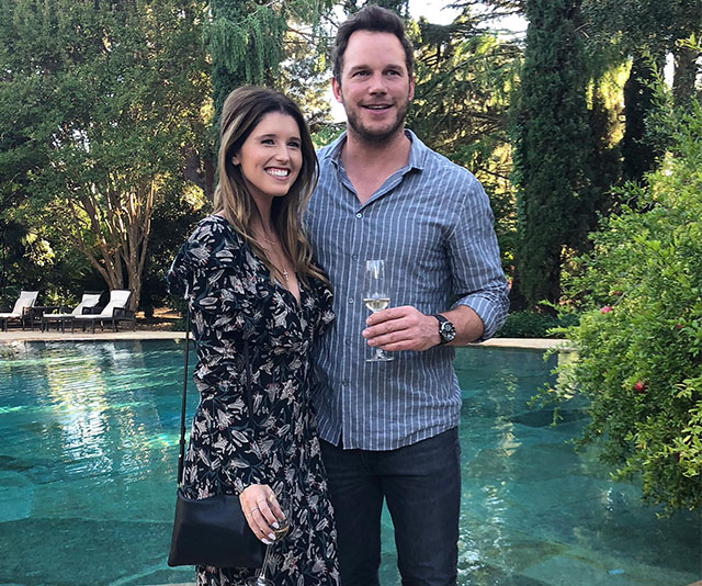 Chris Pratt and Katherine Schwarzenegger Official