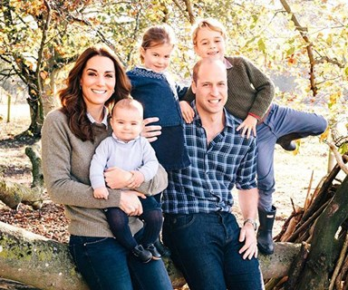 The Reason Behind The Royals' Relaxed Outfits In Their Christmas Card